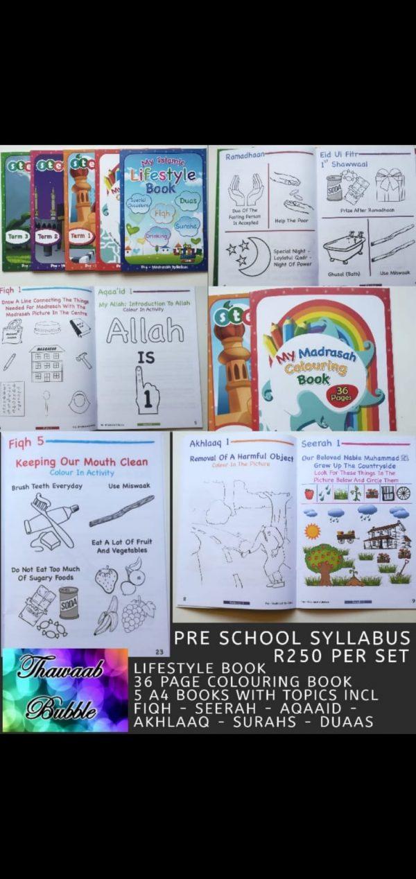 Pre- Madrassah Syllabus