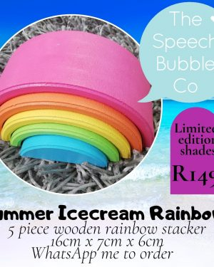Summer Ice Cream rainbow