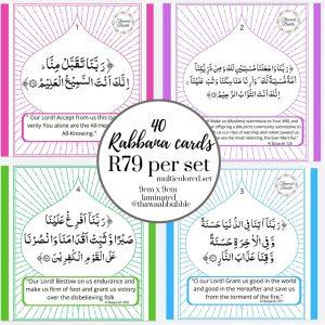 40 Rabbana Cards