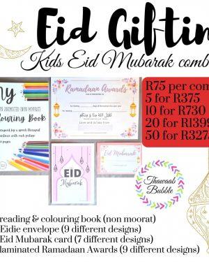 Kids Eid Mubarak Combo